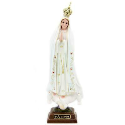 11  Inch Our Lady Of Fatima Statue Religious Figurine Virgin Mary #1025