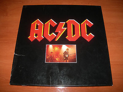 AC/DC CAJA 3 LPs -HIGH VOLTAGE- DIRTY DEEDS DONE DIRT CHEAP- POWERAGE