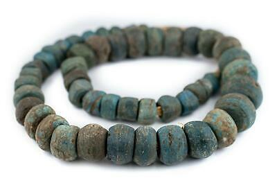 African Antique Blue Hebron Kano Beads Sudan