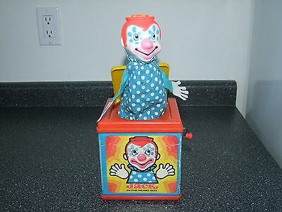 Vintage Jack in the Music Box by Mattel 1976