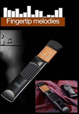 Play the Guitar Anywhere Beginners' Travel Pocket Guitar Mini Instruments Gadget