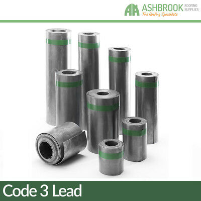 Code 3 Lead Flashing | Lead Sheet | Lead Rolls | 1,2,3,4,5 & 6m Rolls!