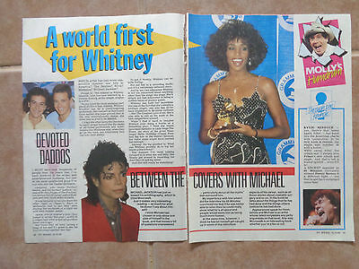Perfect Match_Whitney Houston_MAGAZINE CLIPPINGS_ships from AUS!_14n
