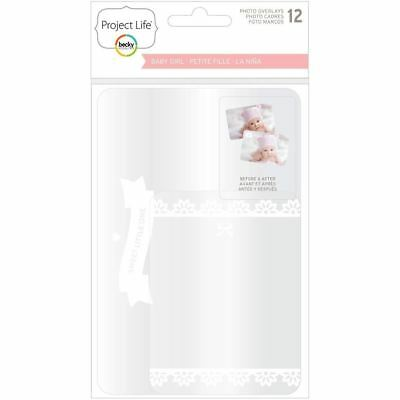 Project Life - Photo Overlays - Baby Girl Edition 12/Pkg