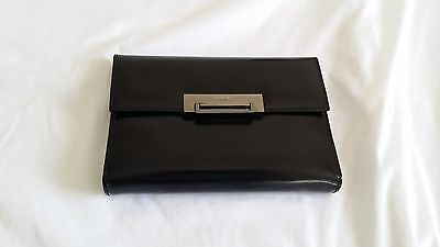 "Authentic Double-M MILANO Journal Diary genuine Black Leather  5.25"" x 7.5""Inch"