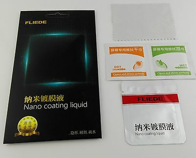 5PCS/lot 9H Hardness Nano Liquid Coating Screen Protector for Cell Phone iphone6