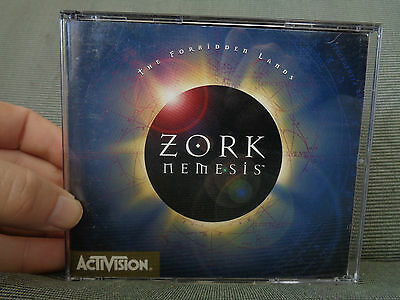 ZORK_Nemesis_The Forbidden Lands_used CD rom_ships from AUSTRALIA_A15