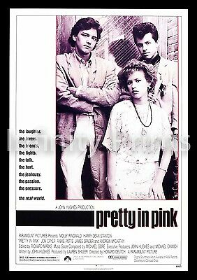 Pretty in Pink Movie Film Poster A2 A3 A4