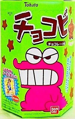 Tohato Chocobi Chocolate Crayon Shin-chan Favorite Snack Import JAPAN