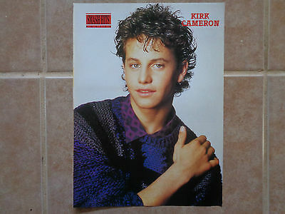 Kirk Cameron_MAGAZINE CLIPPINGS_ships from AUS!_15i