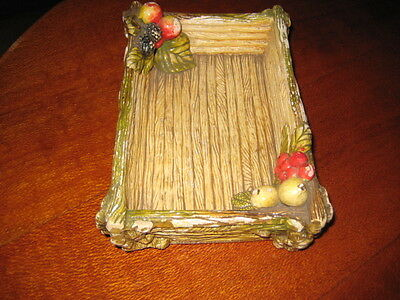 Collectable Vintage Carlis Ware Rectangle Fruit Tray