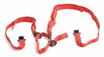 2 X (a pair) of Trailer / Light board straps used for towing recovery dolly spec