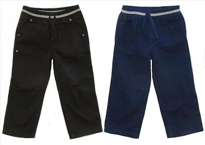 Boy's Ex Store Cargo Trousers/pants 9-12 12-18 18-24 Mths 2-3 3-4 4-5 5-6Yrs
