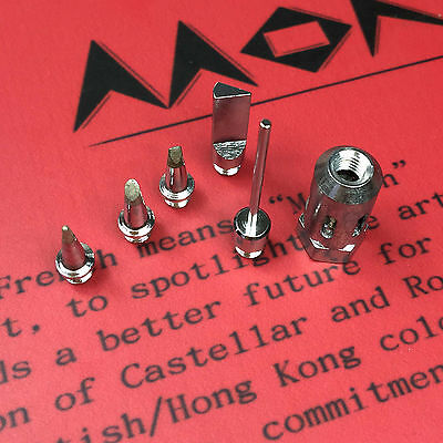 4.9MM tips for Flame Butane Gas Soldering iron Tips Tools