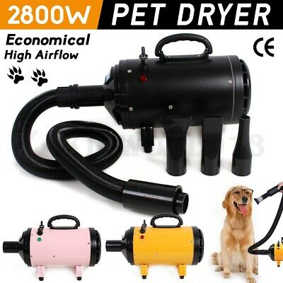 2800W Speed Pet Hairdryer Dog Grooming Hair Dryer Blower Heater Blaster or Stand