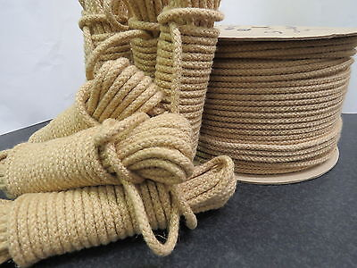 Natural Jute Rope Twisted Braided twisted Decking Garden Boating Sash 6mm-10mm