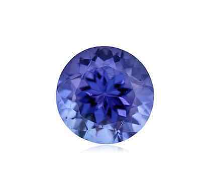Natural Tanzanite Gemstone AA Violet Blue Color Round Loose Stones (1.75mm-10mm)