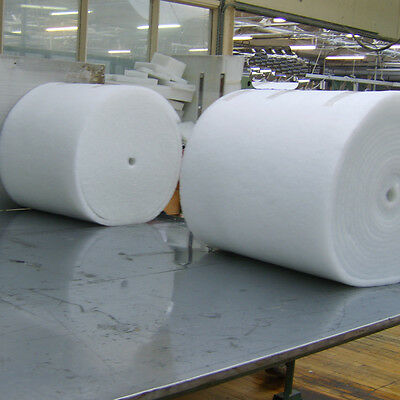 Polyester Wadding Roll for Quilting Upholstery Padding 27 Inch Wide - By Meter