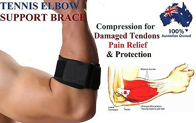 Adjustable Tennis Golf Elbow Support Brace Strap Band Forearm Protection Tendon