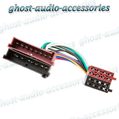 FORD FOCUS ISO Car Radio Stereo Harness Adapter Wiring Connector ...