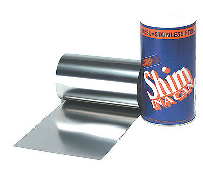 """.001"""" Stainless Steel Shim Stock Roll"""