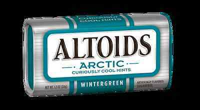 Altoids Arctic Mints Wintergreen ( Box of 8 Containers  )
