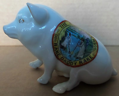 A Rare Arcadian China The Moonrakers Model Of A Wiltshire Pig  (C2)