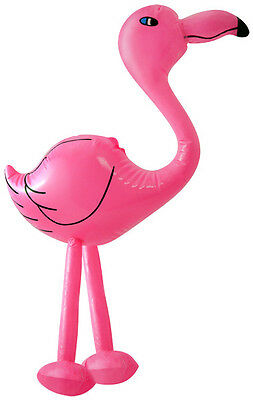 Inflatable Flamingo Hawaiian Summer Them Party Toy Pink Children Luau Fun Adult