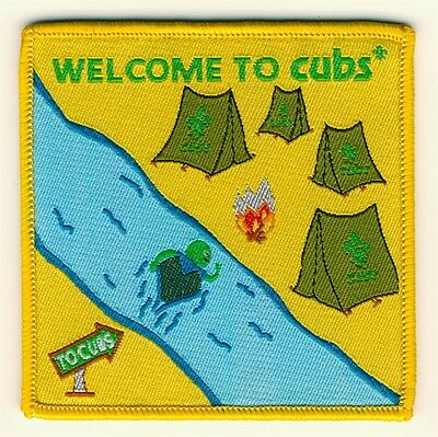 Cub Welcome To Cubs Fun Badge Official Uniform New