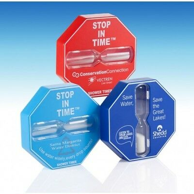 Bespoke Stop In Time® Shower Timer - Easy Install - Durable - Free P&P Worldwide