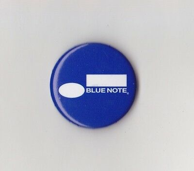 """Blue Note Records - 1"""" Logo Button/Badge/Pin - 75th Anniversary Limited Edition"""
