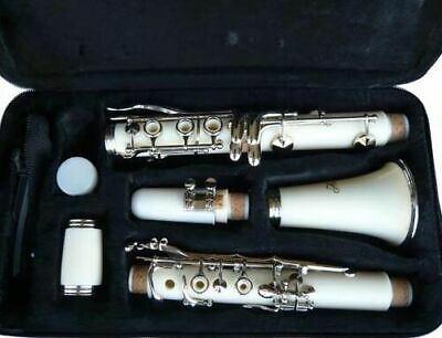 Brand New Blue Concert Band Clarinet  W/case. Warranty