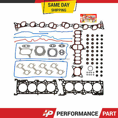 Head Gasket Set 97-99 Ford F150 F250 Expedition Explorer 4.6 SOHC ROMEO, VIN W