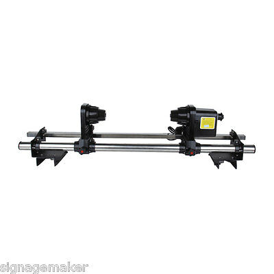"64"" Automatic Media Take up Reel D64 System For Mutoh / Mimaki / Roland / Epson"