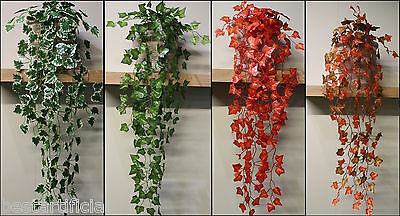 Best Artificial Trailing Ivy Garlands vine plant garden wedding Outdoor Indoor