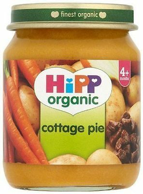 12x 125G Hipp Organic Stage 1 Baby Food Cottage Pie From 4 Months EXP 12/2015
