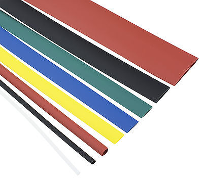 Heatshrink 2:1 Tube Tubing Sleeve Sleeving Heat Shrink - All Colours and Sizes
