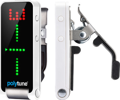 TC Electronic Polytune 2 Clip-On Guitar Tuner