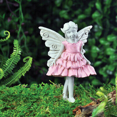 "3.25"" My Fairy Gardens Mini Figure Pick - Sweet Pea - Miniature Figurine Decor"