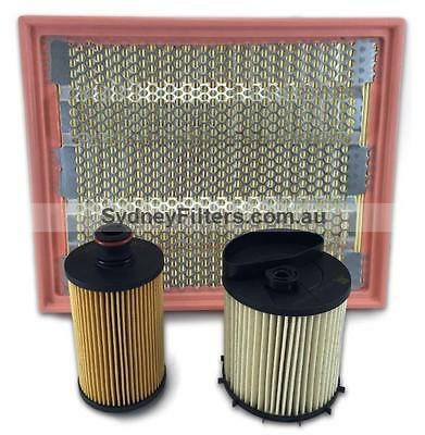SSANGYONG ACTYON 2.0L XDi TURBO DIESEL AIR OIL FUEL FILTER KIT | 2013- on