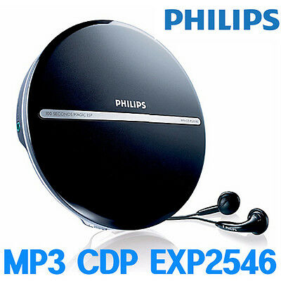 Philips EXP2546 Portable MP3 CDP CD Player Brand NEW