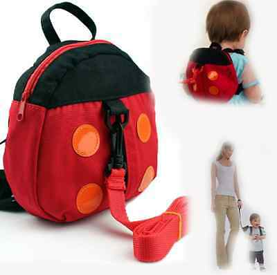 Baby Kids Toddler Walking Safety Harness Strap Anti-lost Leash Cartoon Backpack#