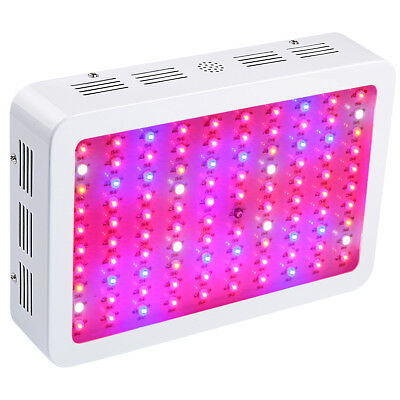 BOSSLED 300W LED Grow Light Full Spectrum For Indoor Veg Flower Plants VEG-BLOOM