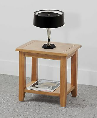Oxford Oak   Lamp Table  Coffee Table  with shelf