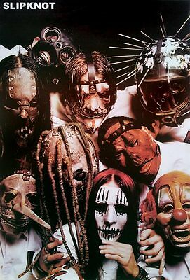 "Slipknot (1995-Now) POSTER 23""x34"" American Rock Punk Alternative Heavy Metal v2"