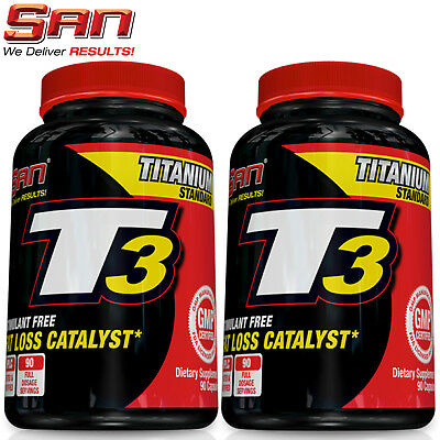 T3 90-450 Capsules Hardcore Fat Burner Thyroid Support Slimming Weight Loss