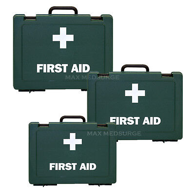 Ezy-Aid EMPTY First Aid Box - Various Sizes - Wall Bracket Option,  HIGH QUALITY