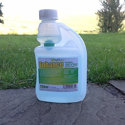 AGRIVITE ENHANCE CALCIUM LIQUID SUPPLIMENT 250ml AVIARY  BIRDS  POULTRY PIGEONS