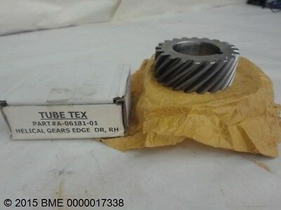 "Tube Tex A-06181-01Rh, Helical Gear, 1-1/2"" Bore, 20 Teeth"