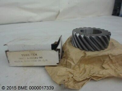 "Tube Tex A-06181-00-Lh, Helical Gear,---- 1-1/2"" Bore,---- 20 Teeth"